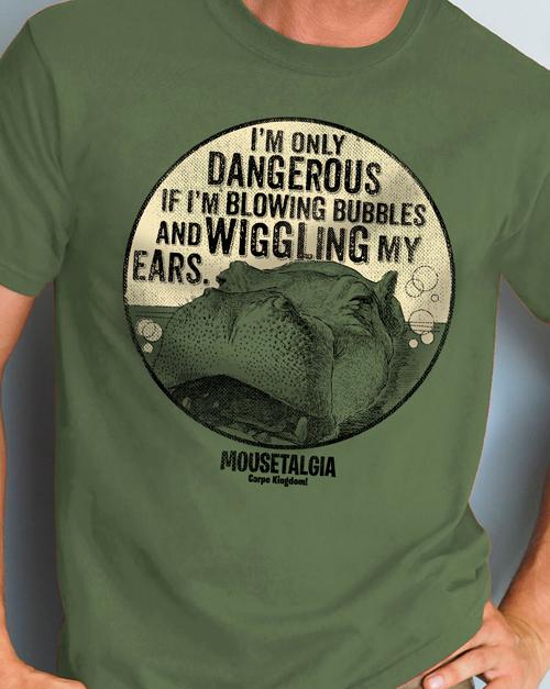 Mousetalgia Hippo T-shirt