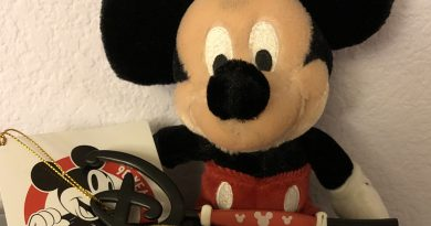 Mickey with key